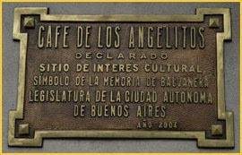 Bares Notáveis de Buenos Aires: Café de los Angelitos