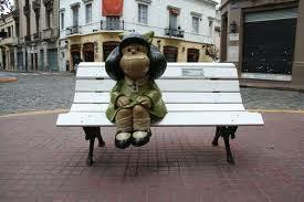 Mafalda, aquela menina idealista…