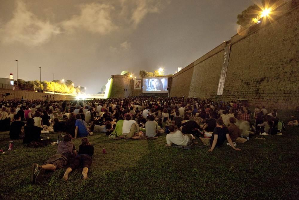 Cinema A La Fresca Cinema E M Sica Ao Ar Livre No Castell