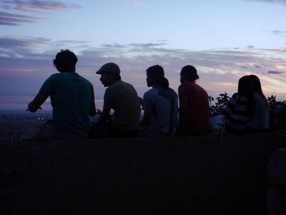 Ideal para um pôr do sol na companhia de amigos