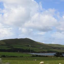 Vista da estrada para Dingle